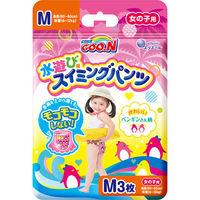 Трусики для плаванья Goon M (9-14кг) для девочек 3 шт