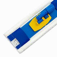 Набор держатель (флаундер) с плоским мопом микрофибра 45х15 см (карман) + рукоятка