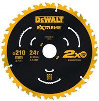 Disc de tăiere Dewalt DT20432 24T