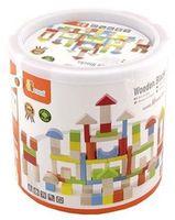 Viga Colorful Block Set - 100pcs (50334)