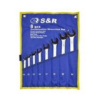 Набор комбинированных ключей 10-24 мм S&R