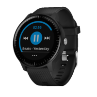 Vivoactive 3 Music Black With Stainless Hardware