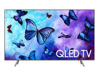 TV QLED Samsung QE55Q6FNAUXUA, Black