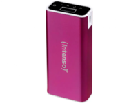 Intenso® Mobile Chargingstation, Pink, 5200 mAh, Alu