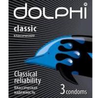 Dolphi презервативы классические, 3шт