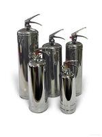 Порошковый огнетушитель 1 кг (Хром)