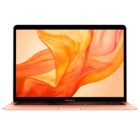 "Laptop Apple MacBook Air, 13.3"" Gold, Retina 2560x1600, Intel Core i5-8210Y, 1.6GHz - 3.6GHz, DDR3 8GB, SSD 128GB, Intel UHD 617, 802.11ac, 2xThunderbolt v3 2xUSB3.2-C Alternate Mode, Mac OS Mojave, RU, 50Wh, 1.25Kg (MVFM2)"