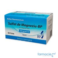 Sulfat de magneziu-BP sol. inj.250 mg/ml 5ml N50