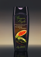 Крем-гель для душа регенерирующий «Пассифлора&Розмарин» Green Style