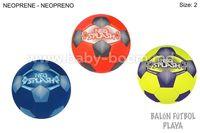 Color Baby 53806 Мяч для пляжного футбола маленький неопрен в асс3