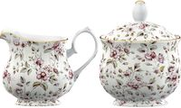 English Room Ditsy Floral White (SUGCR3744)