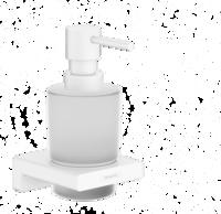 AddStoris Dozator pentru sapun lichid, alb mat
