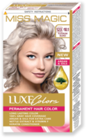 Vopsea p/u păr, SOLVEX Miss Magic Luxe Colors, 108 ml., 123 (10.1) - Blond platinat