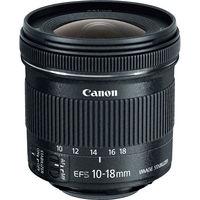 CANON EF-S 10-18mm F4.5-5.6 IS STM, чёрный
