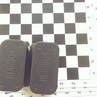 Шашки с картонным полем 30x30 см 014051 (1728)