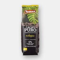 Горячий какао Био, без глютена без сахара Torras 150г