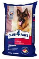 Клуб 4Лапы Premium Корм для активных собак ,20кг