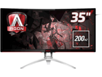 "35.0"" AOC AGON MVA LED AG352QCX Black"