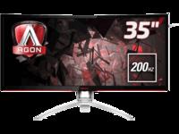 "35.0"" AOC AGON MVA LED AG352QCX Black"