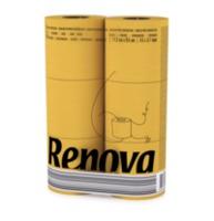купить Renova Туалетная бумага желтая ( 6) в Кишинёве