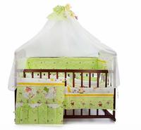 Комплект для кроватки, 7 предметов