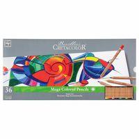 Набор цветных карандашей 36 шт. Megacolor  Cretacolor