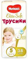 Huggies Трусики Elite Soft 5 (12-17 кг.) 38 шт.