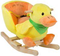 Музыкальная качалка BabyGo Duck
