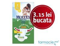 Scutece Moltex  3 (4-9 kg)  MIDI Extra Dry  N 54  ( 2310954/2313671)