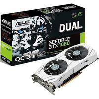 ASUS DUAL-GTX1060-O3G GTX1060, 3GB GDDR5 192bit 1809/8008MHz