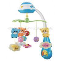 Baby Mix FS-35604 BLUE Карусель Музыкальная с проектором