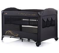 Кроватка-манеж Chipolino Merida Carbon