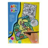 Набор для творчества Витражные разрисовки, в ассортименте 6330570