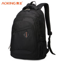 """Pюкзак Aoking H67178 для ноутбука дo 16"""", водонепроницаемый, черный"""