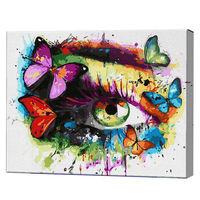 Ochiul abstract, 40х50 cm, pictură pe numere Articol: GX36223