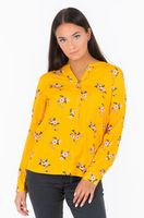 Блуза TOM TAILOR Желтый с принтом 1012960 tom tailor