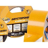 Двусторонние клейкие ленты Aviora прозрачная 50мм * 10м