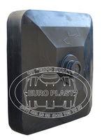 купить Емкость  - душ 150 л (черн.) + душевая насадка  90x90x23 в Кишинёве