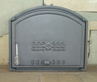 Дверца чугунная глухая правая Halmat - DCHS2