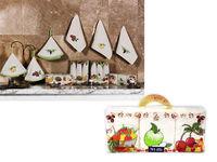 Набор полотенец кухонных 3шт 30X50cm Newhome Fruits 100% х/б