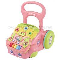 Baby Mix GW-6218A Ходунки с игровым центром розовый