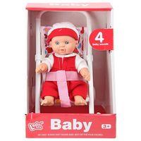 Essa Toys кукла Кукла Baby с коляской 20 см