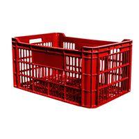 cumpără Ladă din plastic A114, 600x400x300 mm, roşu în Chișinău