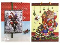 Пакет подарочный 45X32X10cm рождественский рисунок