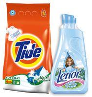 Detergent TIDE ALPINE 6KG +LENOR Spring 37Spălări GRATIS