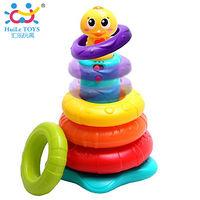 Huile Toys пирамидка утка с музыкой и светом