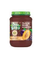 Piure Baby Vita fără zahăr prună, 180g