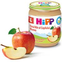 Piure de mere Hipp (4+ luni), 125g