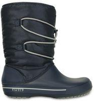 Women's Crocband II.5 Cinch Boot Navy / Light Grey