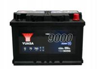 Аккумулятор 70Ah/760A Yuasa Start-Stop AGM